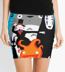 Ghibli'd Away Mini Skirt