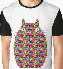 Mosaic Totoro Graphic T-Shirt