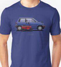 City R & Motocompo (Blue & Red) Unisex T-Shirt