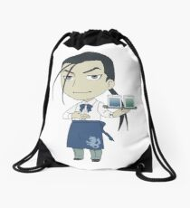 Kimblee Princess Cafe Drawstring Bag