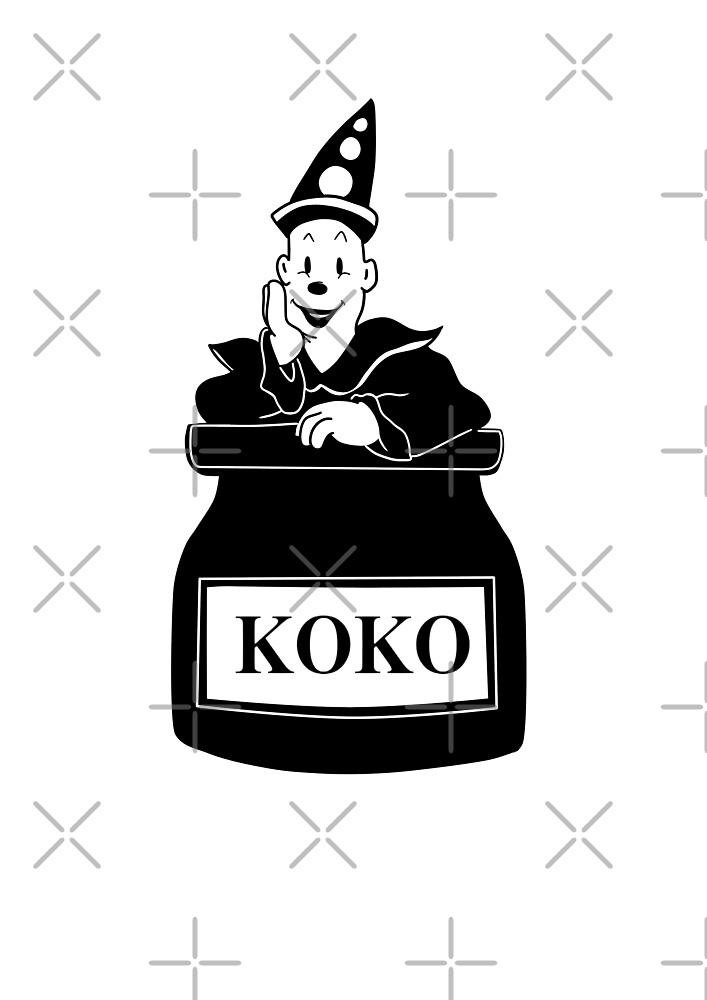 Koko the clown by MarinaRodriguez