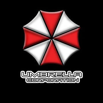 Umbrella Corporation Red And White by Kgphotographics