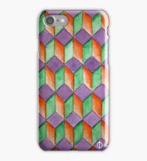 Geometric Watercolor Pattern iPhone Case/Skin