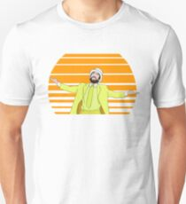 Retro Sunny Design  Unisex T-Shirt