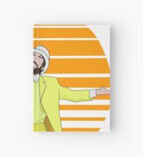 Retro Sunny Design  Hardcover Journal