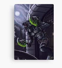 Worgen Charge Canvas Print