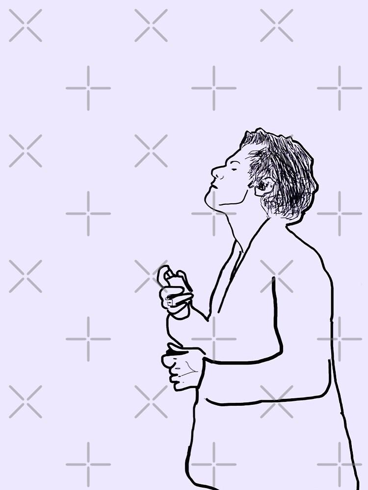 Harry Styles Minimal Purple by nemethreni