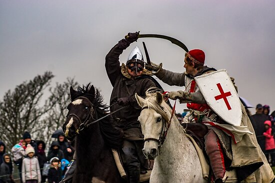 St George In Battle by vincenttravers