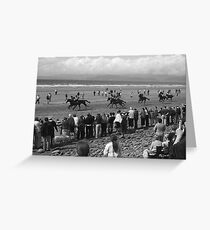 Glengeigh Races Kerry Greeting Card