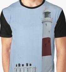 Portland Bill lighthouse Graphic T-Shirt