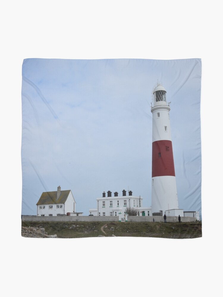 Alternate view of Portland Bill lighthouse Scarf