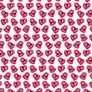 Hot Lips Pattern by MissChatZ