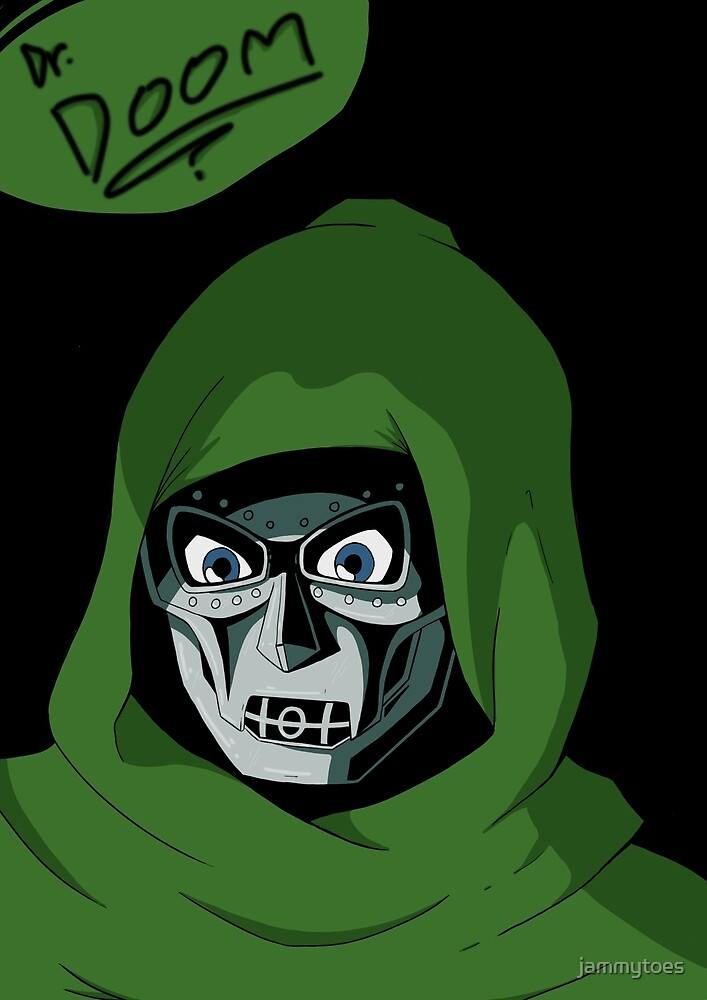 Dr Doom by jammytoes