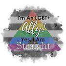 LGBT+ Ally by Castiel Gutierrez