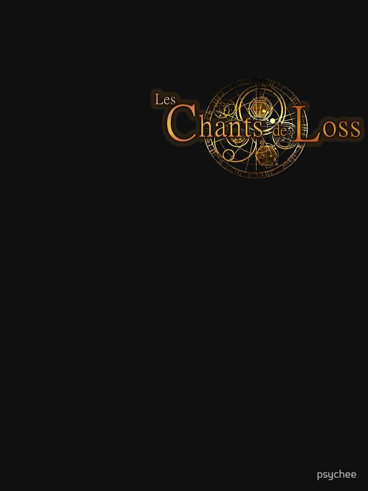 logo loss tee-shirt by psychee