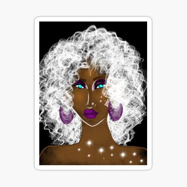 Fragmented beauty Sticker