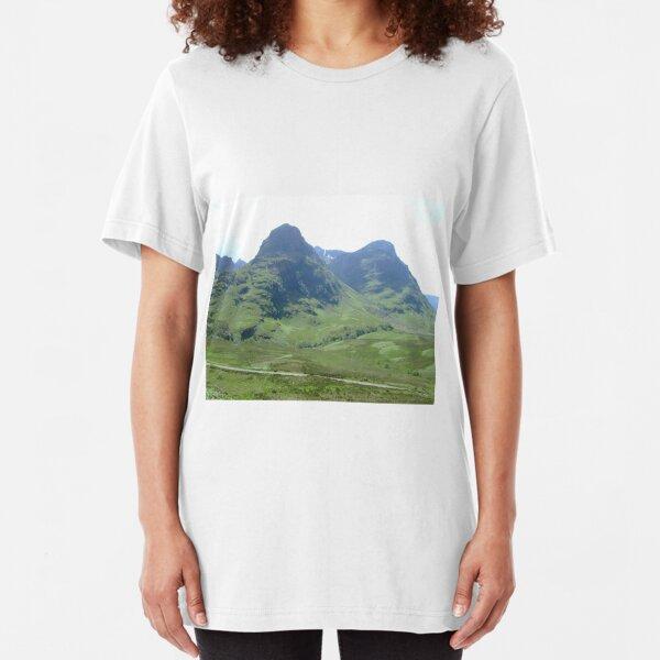 Glencoe, Scotland Slim Fit T-Shirt