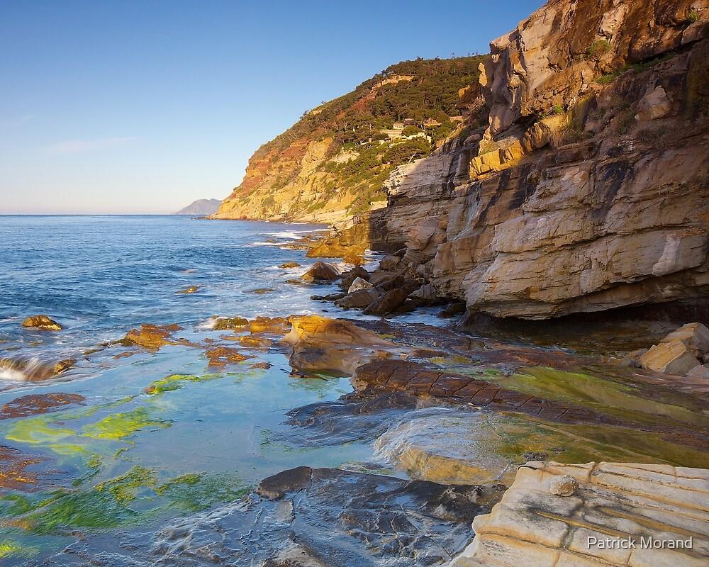 Morning light on the Mediterranean coast by Patrick Morand