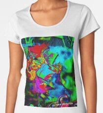 Spring Mood Hippie Abstract Graffiti Women's Premium T-Shirt