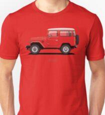 Land Cruiser FJ40 HardTop Red Unisex T-Shirt