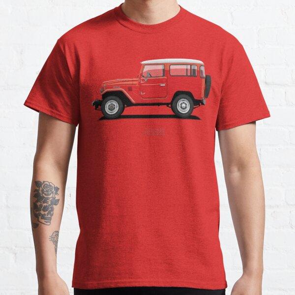 Land Cruiser FJ40 HardTop Red Classic T-Shirt
