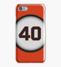 40 - Mad Bum (alt version) iPhone Case/Skin
