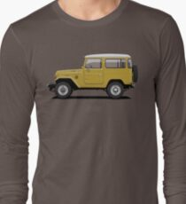 Land Cruiser FJ40 HardTop Mustard Yellow Long Sleeve T-Shirt