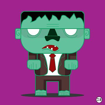 Flat Zombie by justin-baker