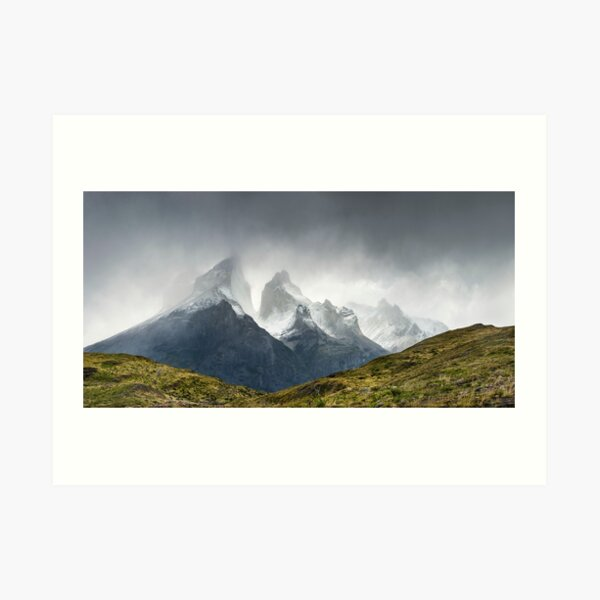 Los Cuernos, The Horns of Patagonia Art Print