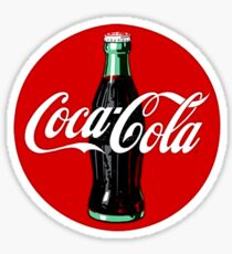 Retro Coca-Cola Sticker Sticker