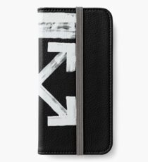 Off-White Brush Arrows iPhone Wallet/Case/Skin