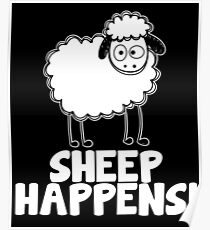 Sheep Happens Poster
