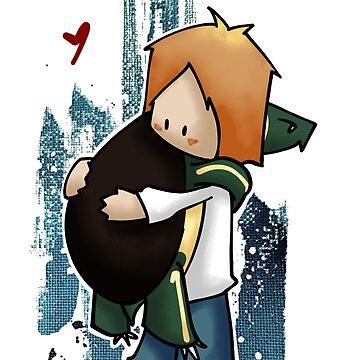 Turtle hug! by ArryDesign