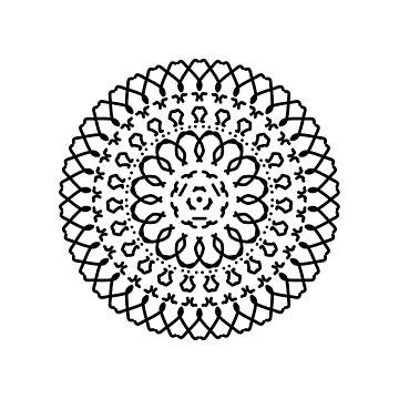 Mandala Attempt by ShyMagnolia