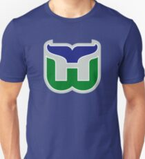 HARTFORD WHALERS HOCKEY RETRO Unisex T-Shirt