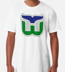HARTFORD WHALERS HOCKEY RETRO Longshirt
