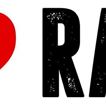 I Love RAW by shaymurphy