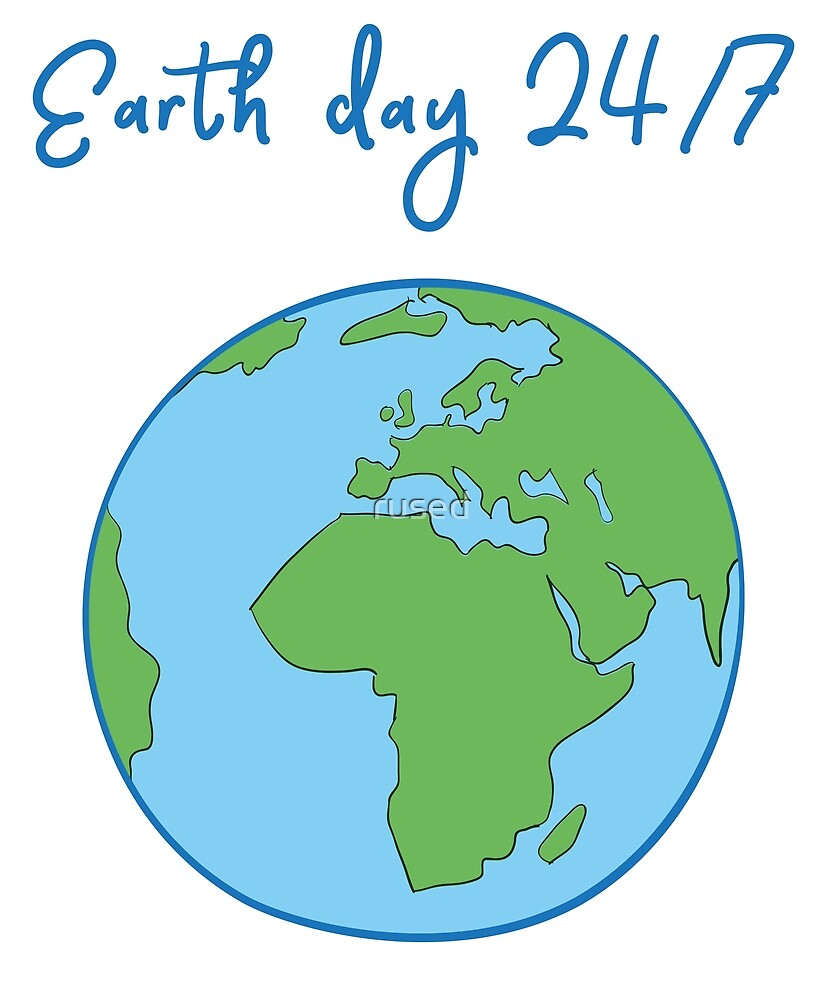 Vintage Earth Day by rused