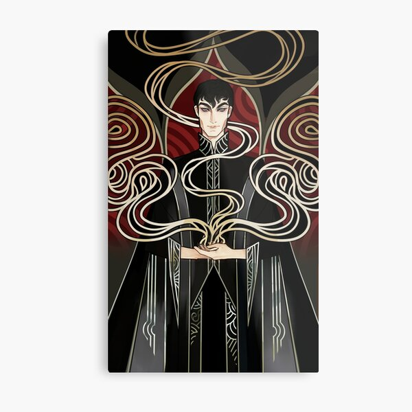 The Darkling Metal Print