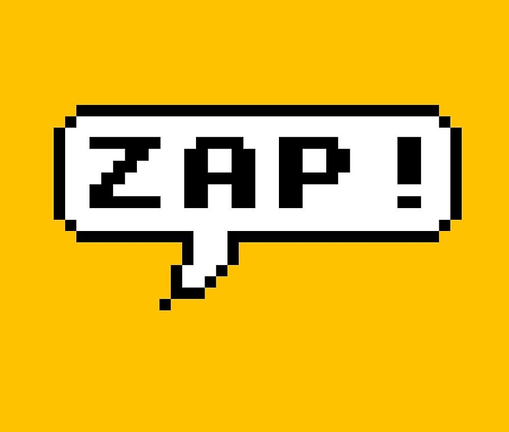 Zap! by Artymoose