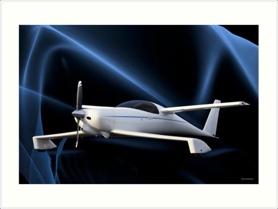 Quickee 200 'Q200' Experimental Aircraft II by DaveKoontz