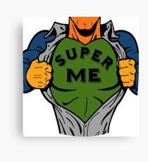Super me Canvas Print