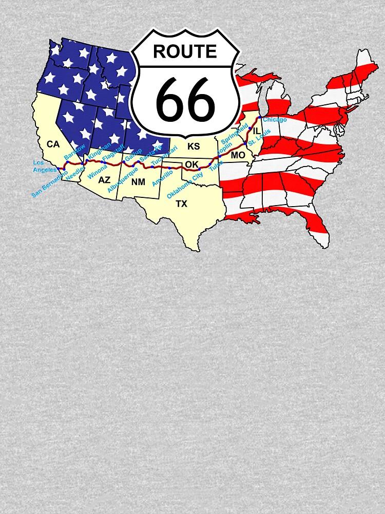 Route 66 by fotokatt