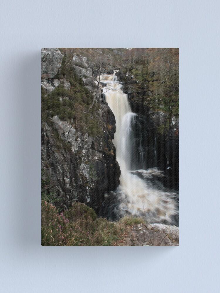 Alternate view of Falls  of  Kirkcaig Canvas Print