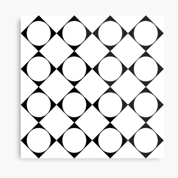 Disposition, tone, structure, framework, composition, frame, texture, scheme Metal Print