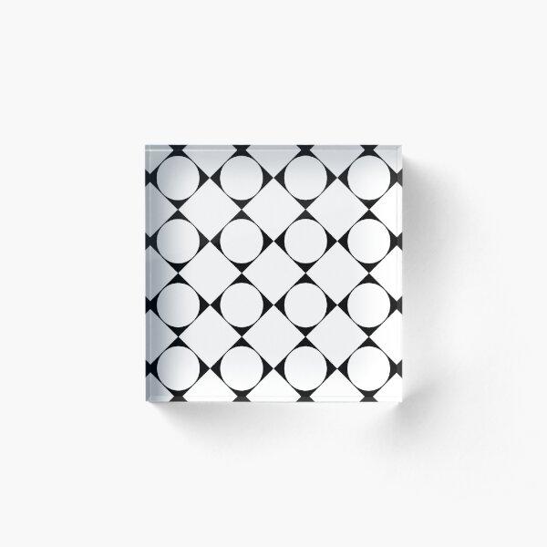 Disposition, tone, structure, framework, composition, frame, texture, scheme Acrylic Block