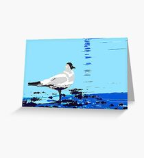 wader posterized Greeting Card