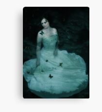 Dreaming Woman Canvas Print