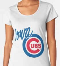 Iowa Cubs Women's Premium T-Shirt