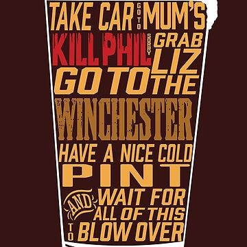 Shaun of the Dead - Winchester by JPDesignsStuff